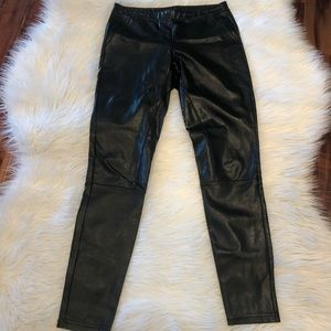 Wilfred Free pleather tights size medium